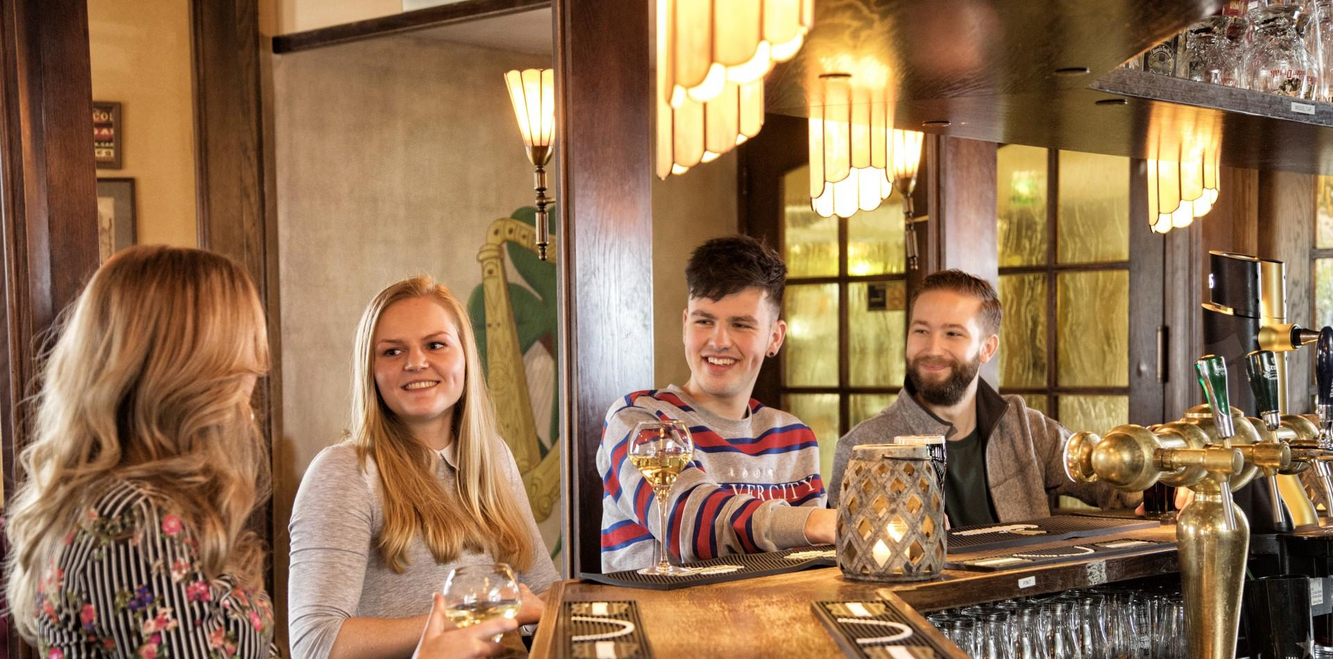 Iers restaurant en pub de Turfsteker in Westerbork
