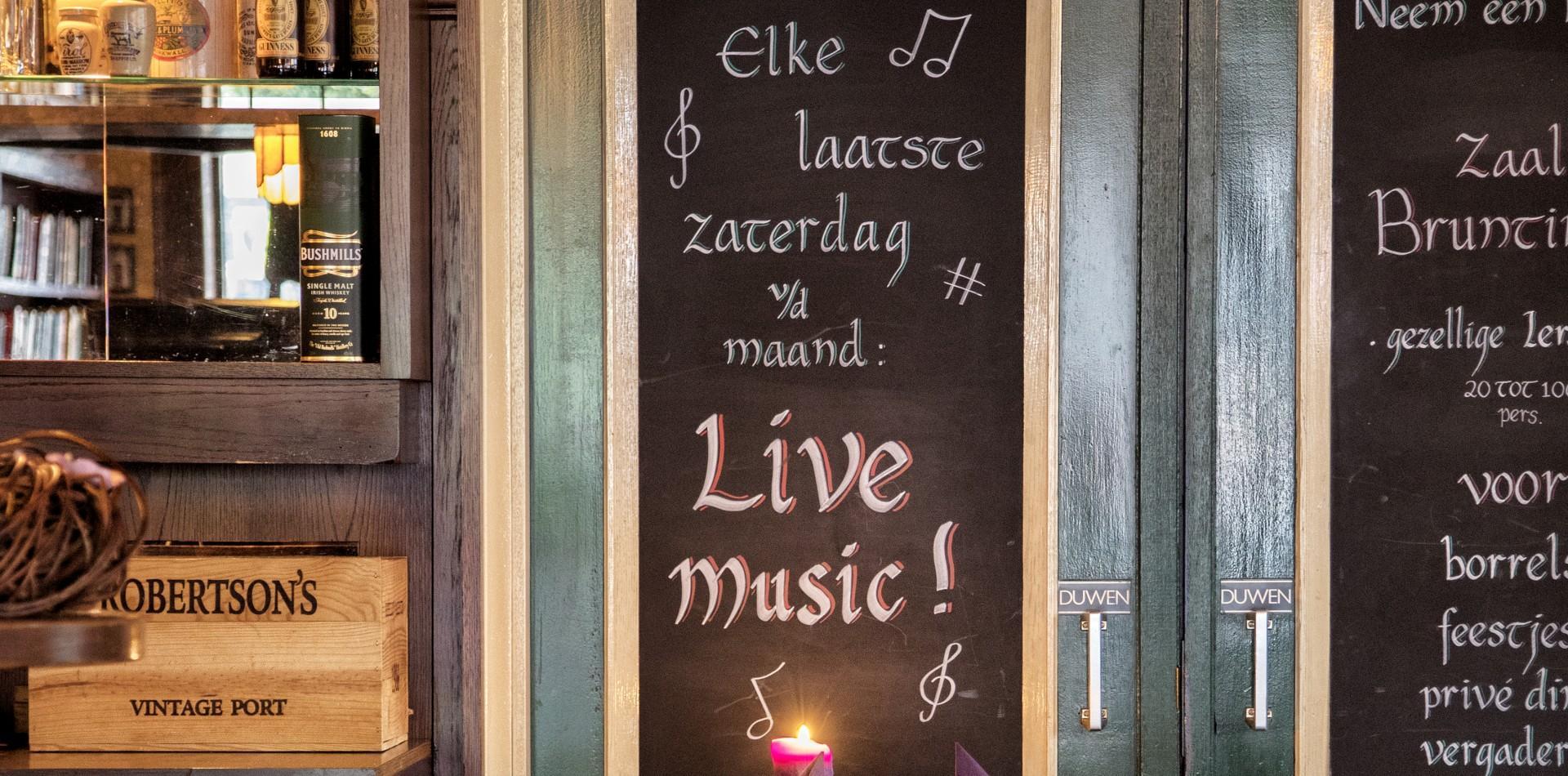 De turfsteker: Ierse pub en restaurant Westerbork